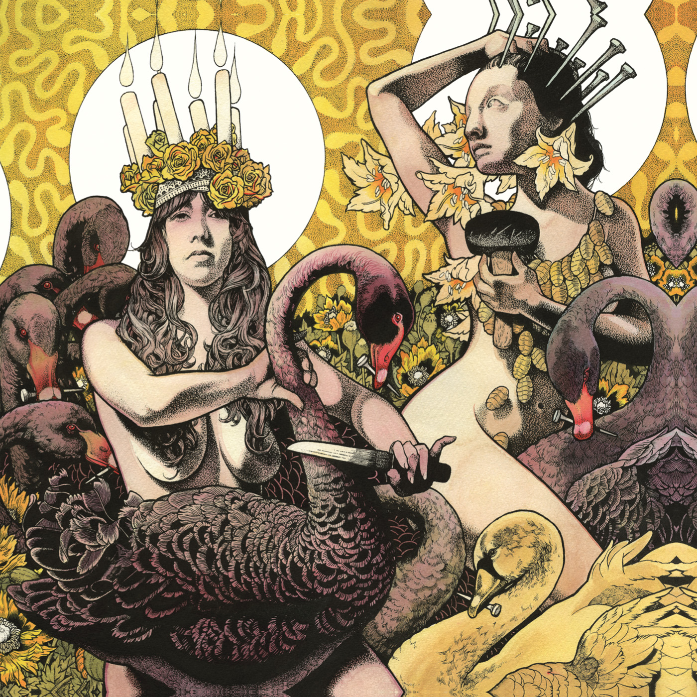 "Baroness. ""Yellow & Green"""
