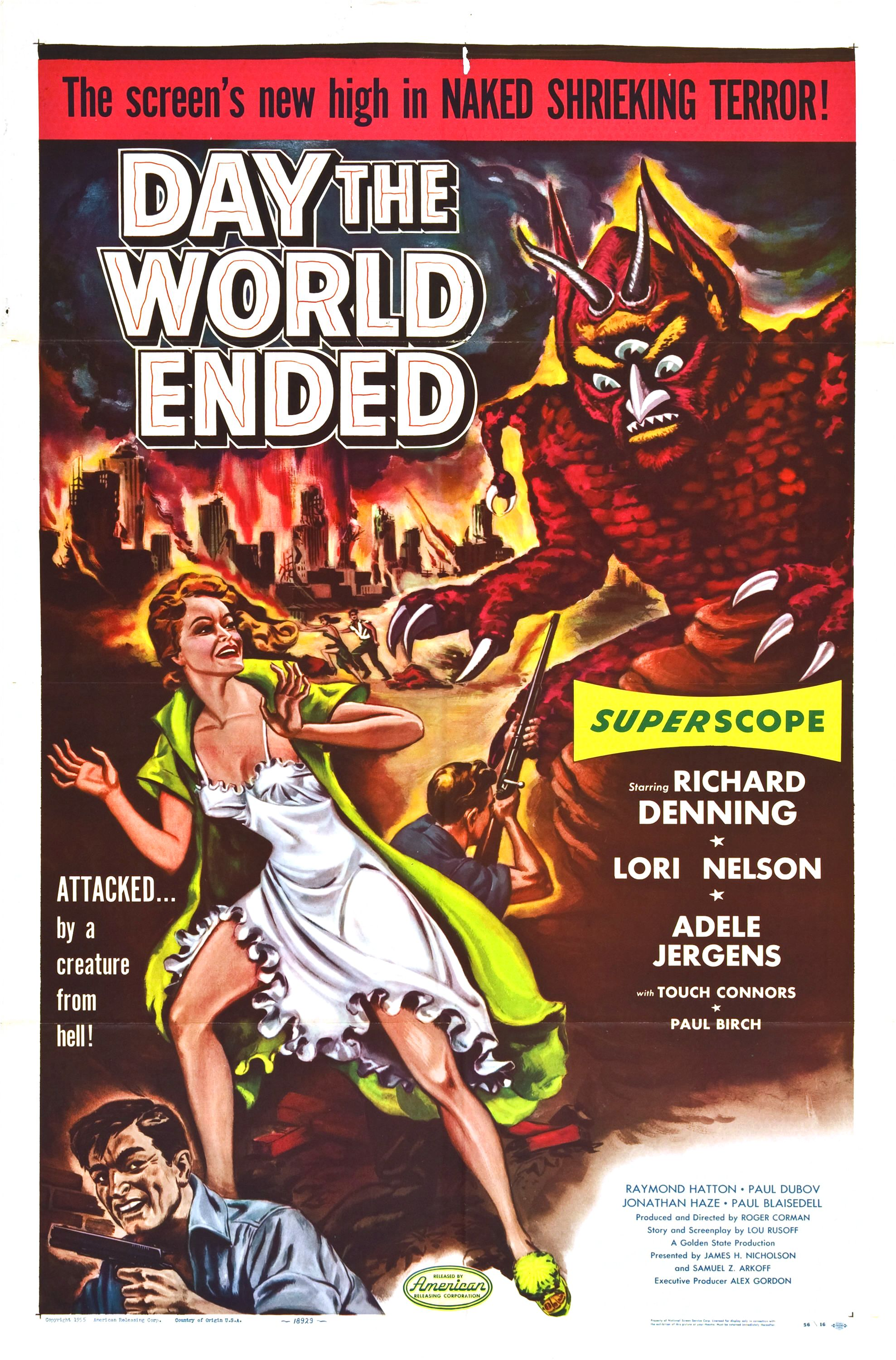 """Day The World Ended"". Fuente: www.filmaffinity.com"