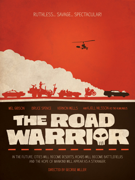 """Mad Max 2"" (1981). Poster alternativo. Fuente: www.tumblr.com"