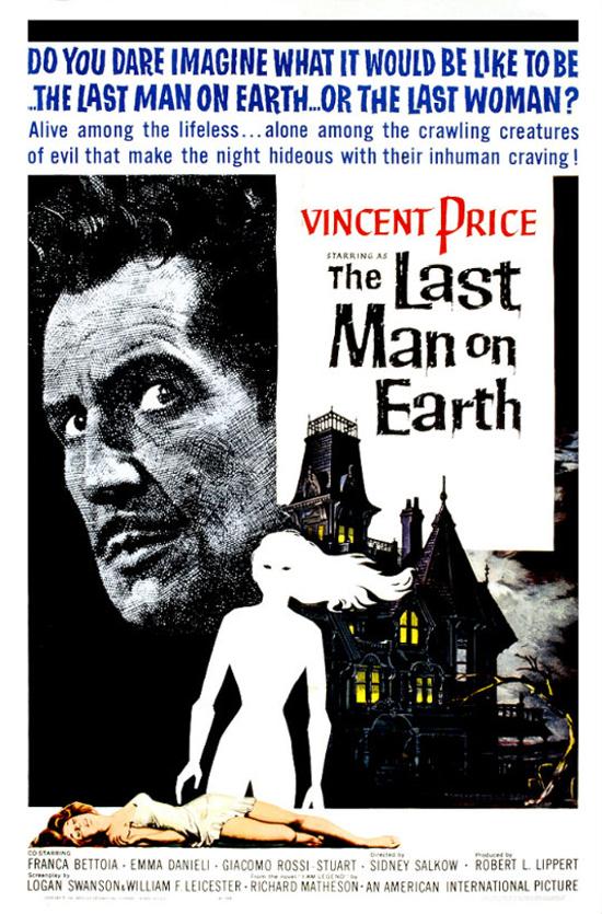 """""""El último hombre en la tierra"""". Fuente: www.conelcineenlostalones.blogspot.com"""