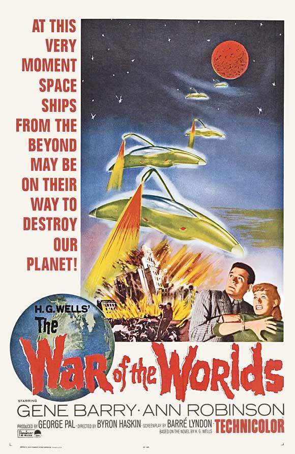 """""""The War Of The Worlds"""". Poster alternativo. Fuente: www.geekynerfherder.blogspot.com"""