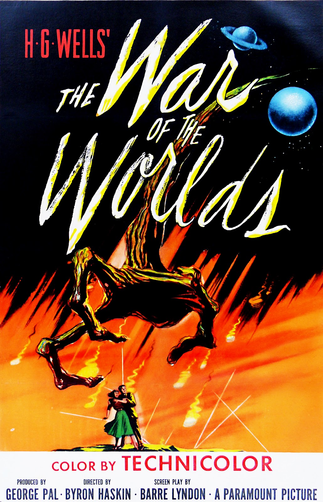 """The War Of The Worlds"". Fuente: www.geekynerfherder.blogspot.com"