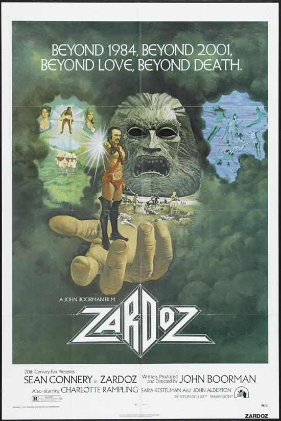 """""""Zardoz"""" (1974). Fuente: www.kl5film.com"""