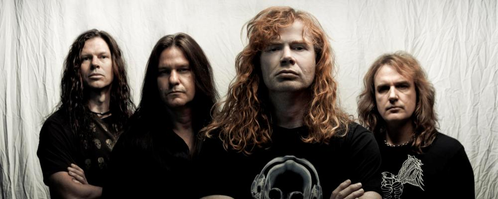 Megadeth. Fuente: www.futuro.cl