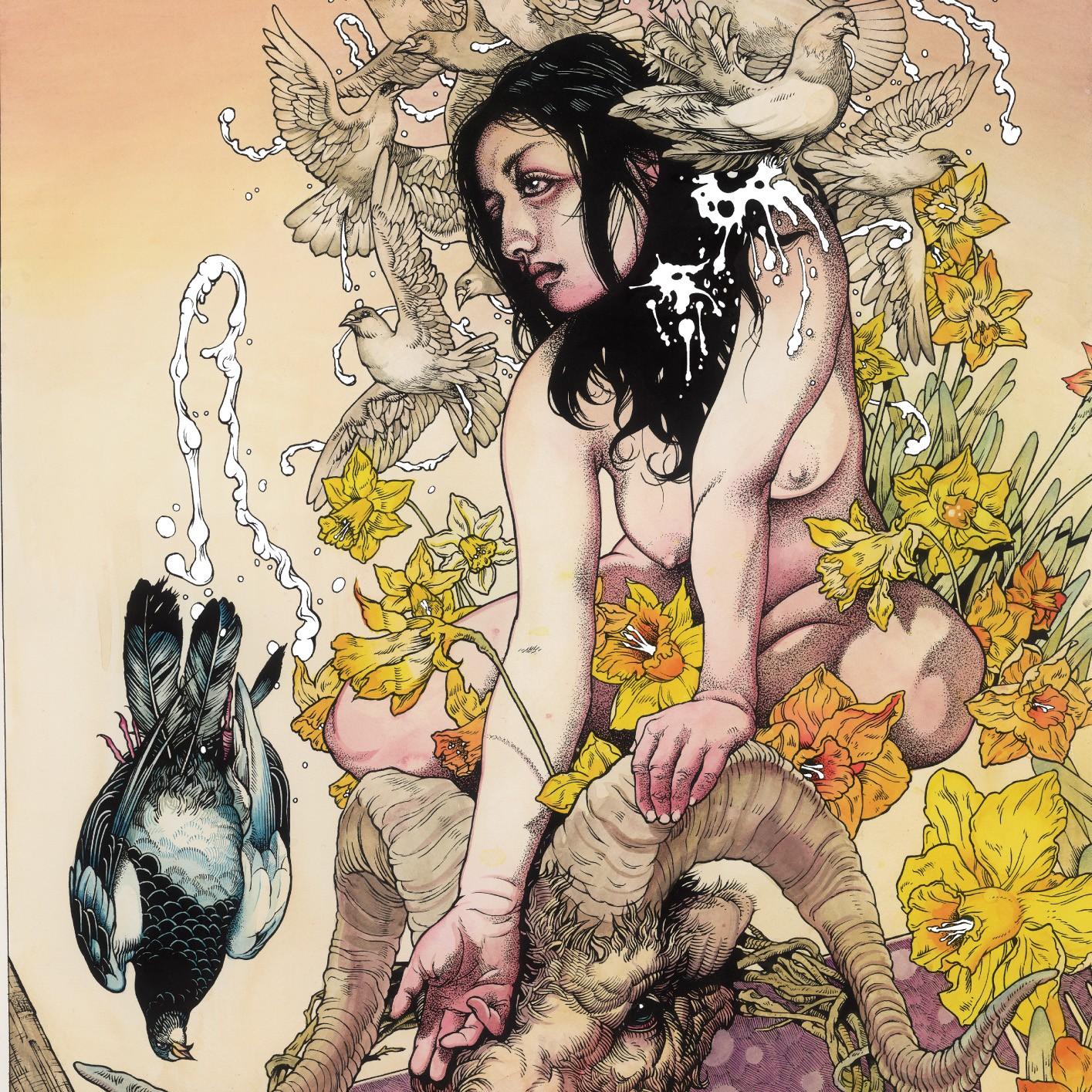 """Artwork de """"Meir"""", a cargo de John Baizley (Baroness)."""