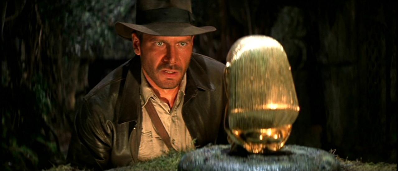 """""""Indiana Jones en busca del arca perdida"""", de Steven Spielberg (1981). Fuente: www.blakesnyder.com"""