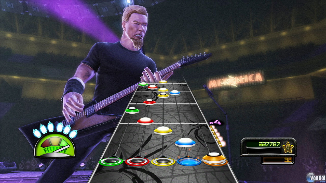 Metallica. Guitar Hero