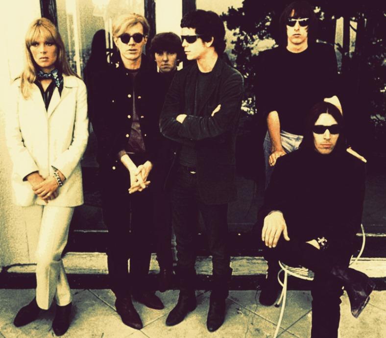 The Velvet Underground con Nico y Andy Warhol