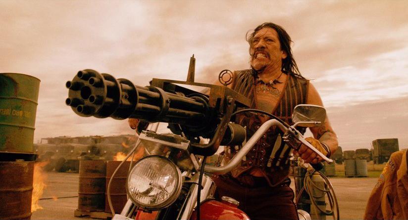 "Danny Trejo es Machete en ""Machete Kills"" de Robert Rodríguez. Fuente: www.10fortheswagcom.com"