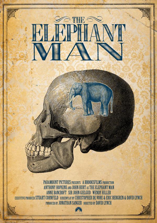 El hombre elefante. Fuente: www.redesignrevolution.com